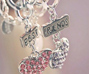 friends, heart, and best friends image