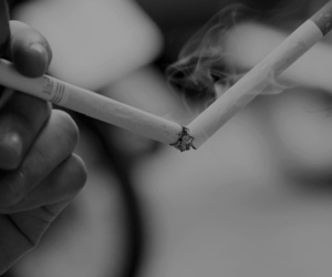 black and white, marlboro, and two image