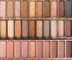 eye shadow, palette, and style image