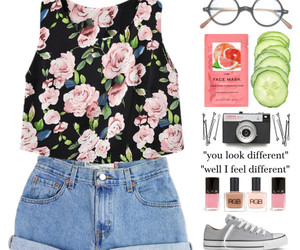 casual, style, and cute image