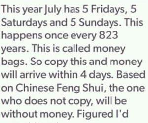 money and july image