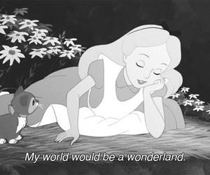 wonderland, alice, and disney image
