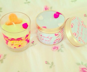 candle and rosy image