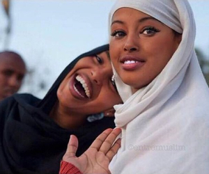 beautiful, islam, and smile image