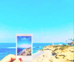 beach, summer, and picture image