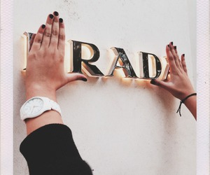 Prada, rad, and fashion image