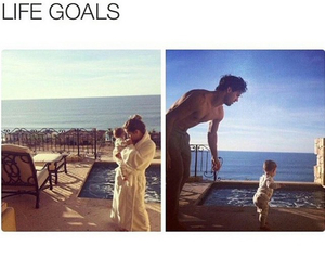 life goals, love, and family image