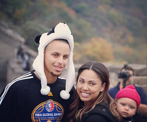 baby girl, family, and stephen curry image