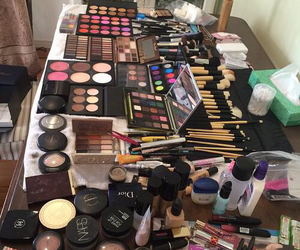 makeup, Brushes, and goals image