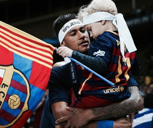 neymar, davi lucca, and fc barcelona image