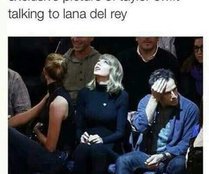 lana del rey, funny, and Taylor Swift image