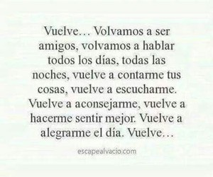 vuelve, frases, and amigos image