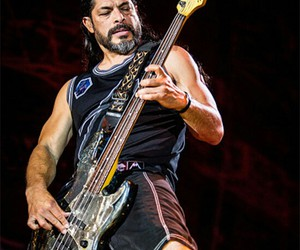 metallica and robert trujillo image