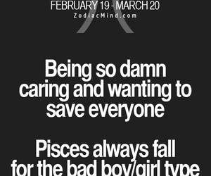 astrology, caring, and pisces image