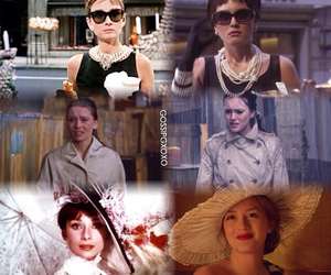 audrey hepburn, blair waldorf, and gg image