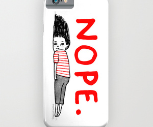 case, iphone, and nope image
