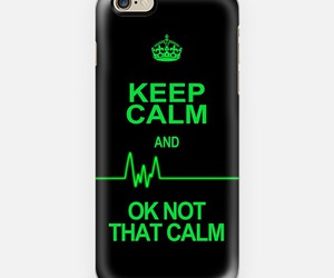 funny, heartbeat, and keep calm image