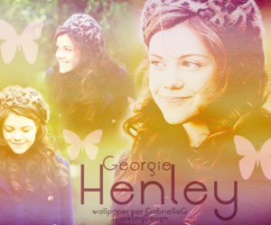 georgie henley and wallpaper image