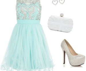 dress, sparkle, and frozen image