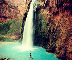 photography and waterfall image