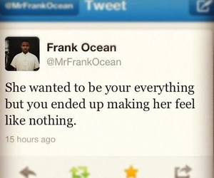 frank ocean, quote, and nothing image