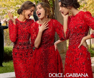 dress, Dolce & Gabbana, and model image