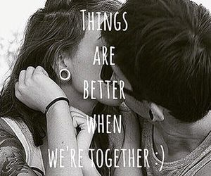 quote, love, and couple image