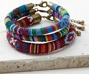 boho, colorful, and f21 image