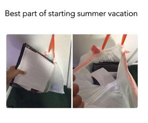 summer, school, and true image