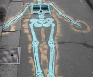 cool, skeleton, and body image