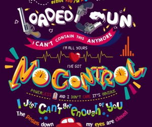 one direction, no control, and Lyrics image