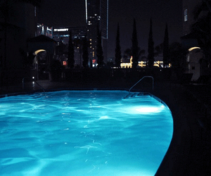 gif, pool, and water image
