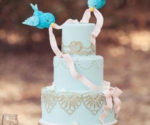 cake, wedding, and cinderella image