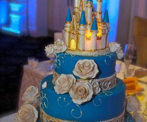 cake, cinderella, and disney image