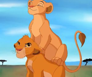 the lion king, disney, and nala image