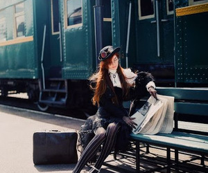 steampunk and train image