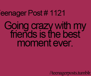 crazy, best friends, and teenager post image