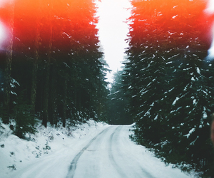 indie, landscape, and snow image