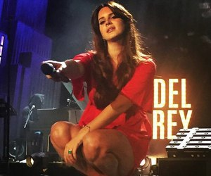 lana del rey, concert, and lana image