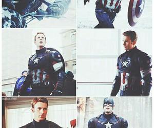 captain america, chris evans, and steve rogers image