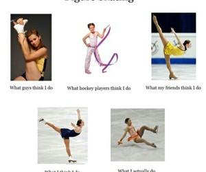 figure skating and funny image