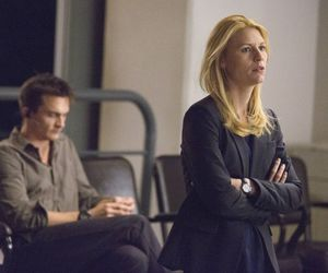 claire danes, carrie mathison, and Rupert Friend image
