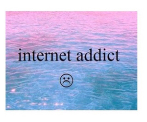 addict, internet, and hipster image