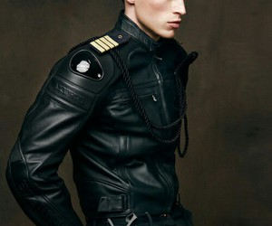 fashion, editorial, and military image