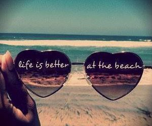 beach, summer, and life image
