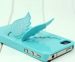 iphone, blue, and case image