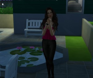 juliet burke, the sims 4, and sgplumbob image