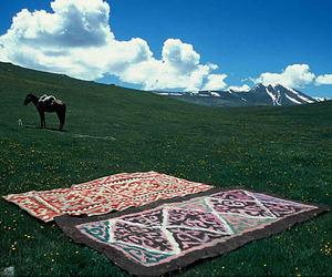 landscape and kyrgyztan image