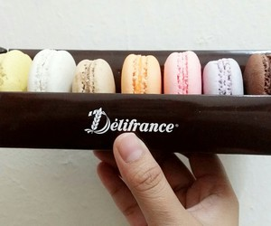 colourful, macaroons, and marvellous image