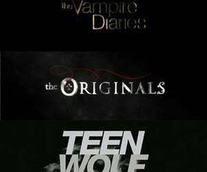 The Originals, werewolf, and teen wolf image